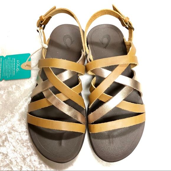 1f632f859048 Olukai  Awe  Awe strappy sandals size 7 NIB